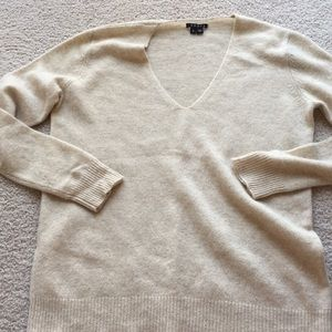 Sweaters - Theory cashmere sweater, oatmeal, S